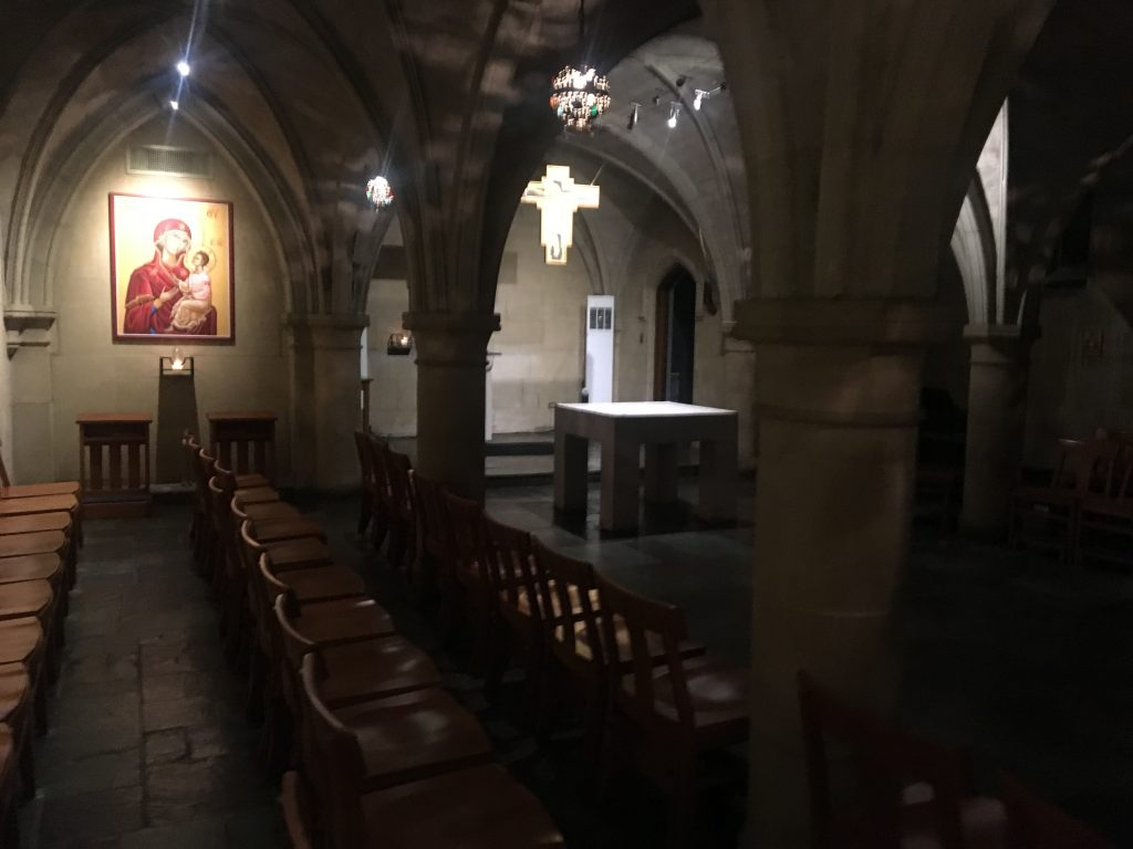 Renovations Planned for St. William and Copley Crypt chapels