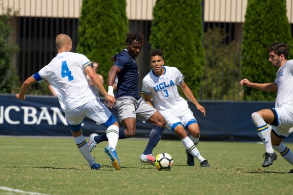Men's soccer faces three-peat champs on Labor Day