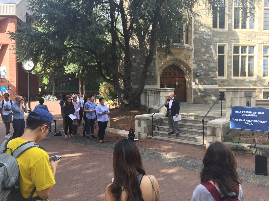 Constitution Day Celebration at Georgetown Highlights Immigrants