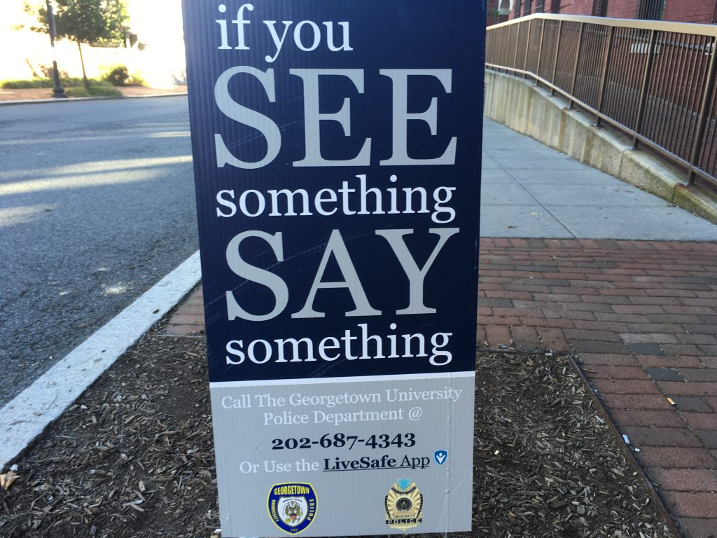 GUPD Issues Response to Anti-Semitic Graffiti