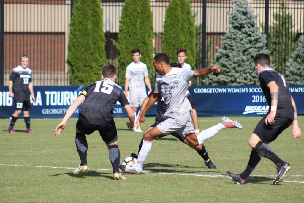 No. 18 Men's Soccer Beats Creighton, Gets Help From Providence to Clinch Second Seed in Big East Tournament