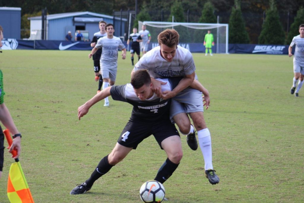 Tired Legs Plague No. 10 Men's Soccer in Scoreless Draw Against Providence