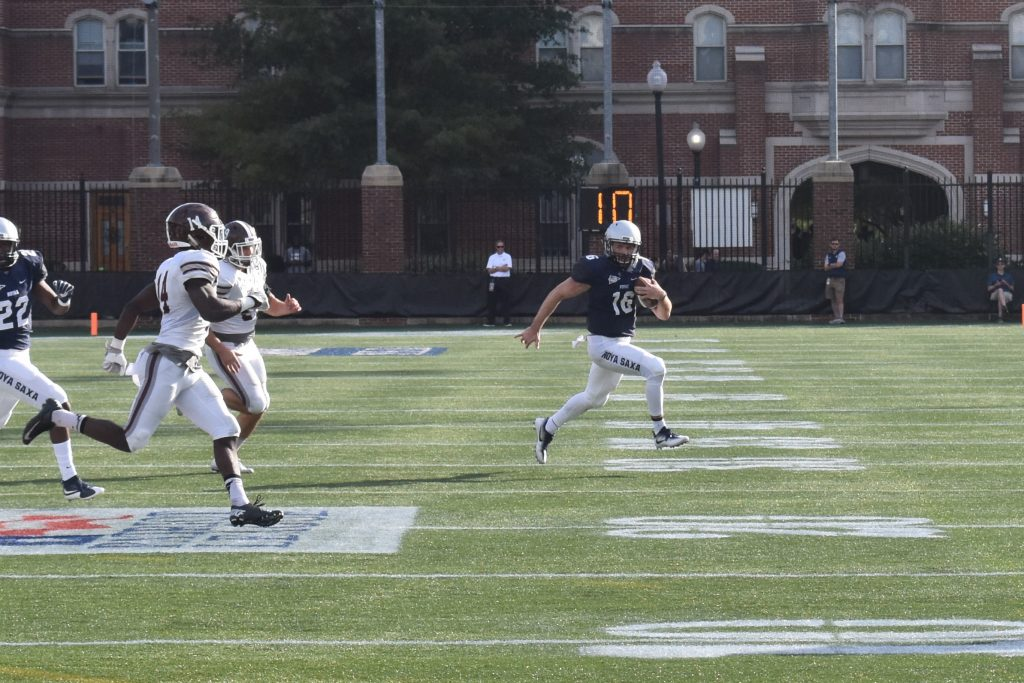 Football Falls To Lafayette on Homecoming