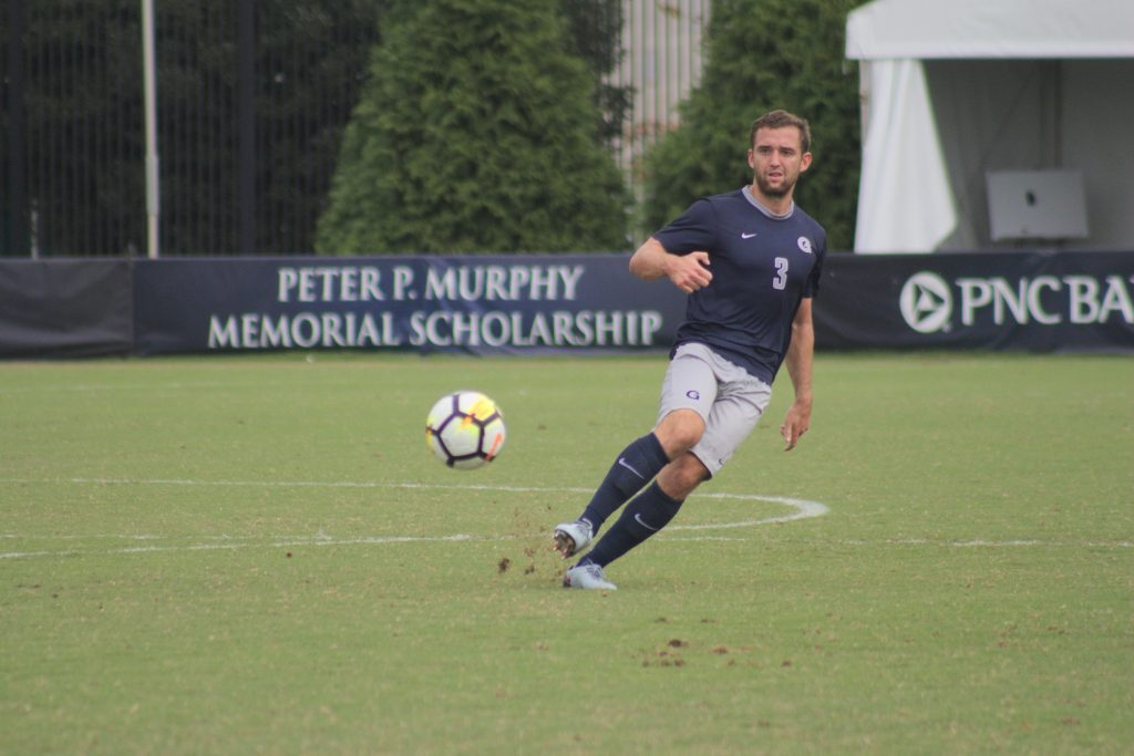 Men's Soccer Concedes Late Goal, Draws No. 10 Stanford at Home