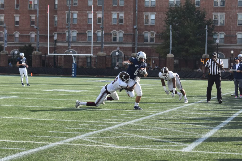 Football prepares for Senior Day matchup with Colgate