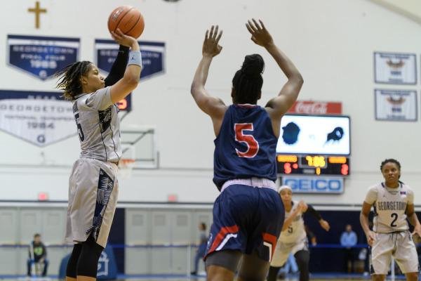 Women's Basketball Downs Loyola Maryland