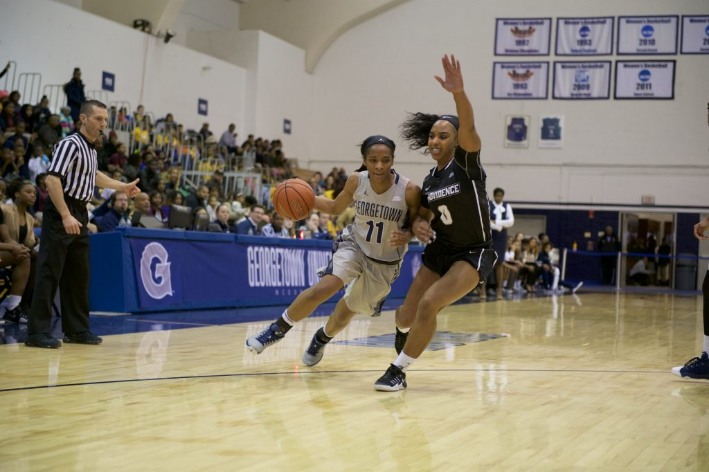 All Eyes on Her: Dionna White leads team on both sides of the ball
