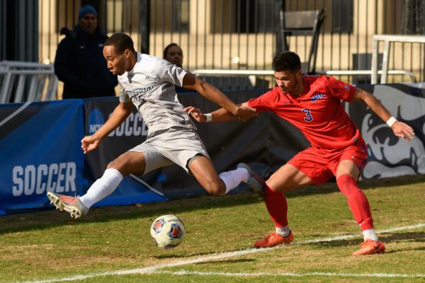 Own Goal Dooms Men's Soccer in Round of 32