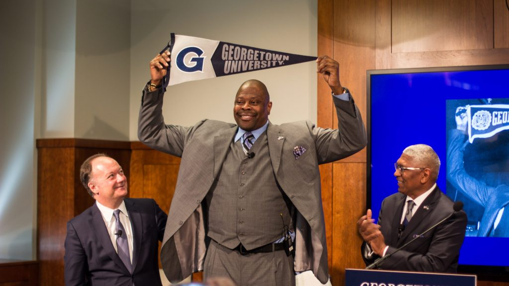 Hoya For Life: Patrick Ewing returns to revive the men's basketball team