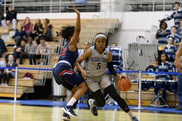 Women's basketball falls to crosstown rival GW