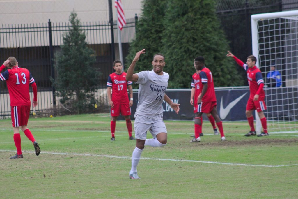 Men's Soccer Defeats St. John's, Advances to Big East Championship