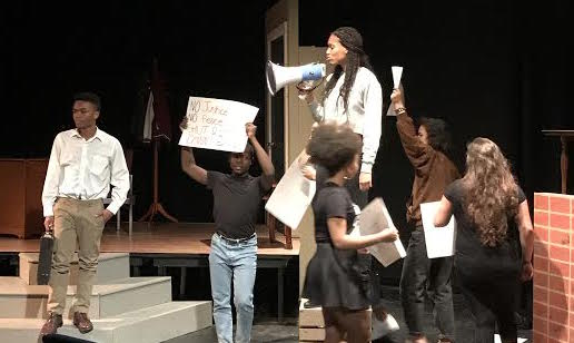 "Biting Into Black Theater Ensemble's ""The Hand That Feeds You"""