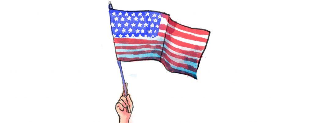 """""""Waving Betsy Ross's Flag Higher"""""""