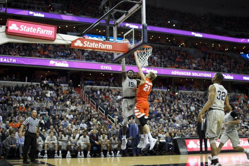 Battle worn: Hoyas fall in overtime to Syracuse