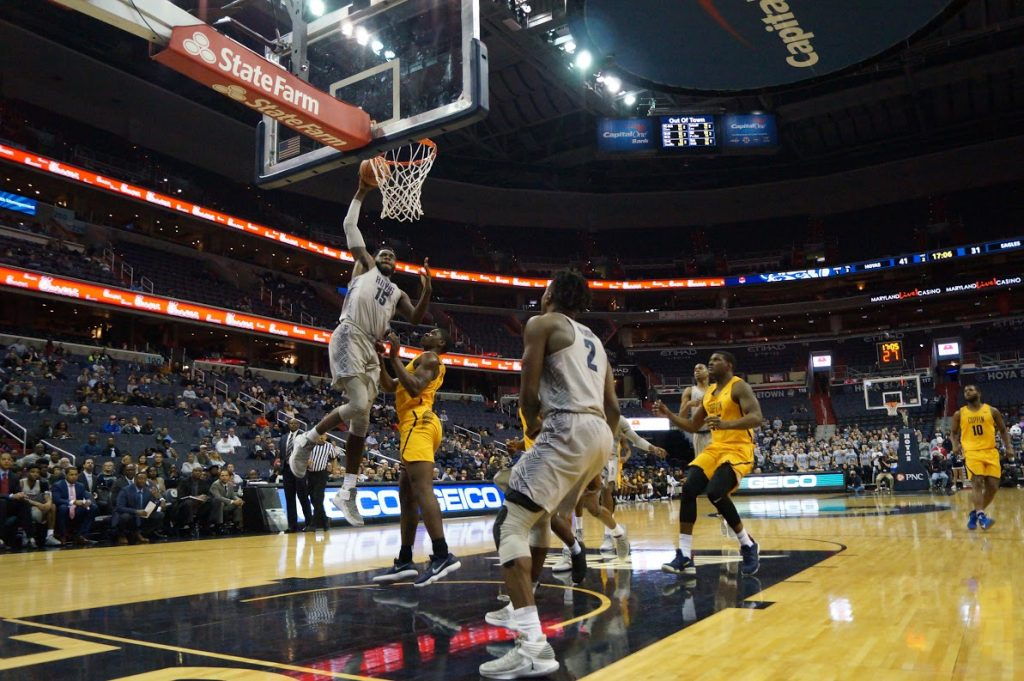 Coppin' a dub: Hoyas improve to 6-0 with a sloppy win