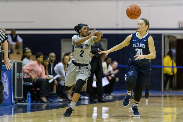 Falling back: Women's basketball drops fourth straight after an 0-2 weekend