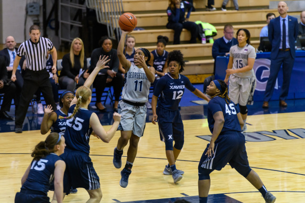 Sword's length away: Women's basketball uses scoring runs to see off Xavier
