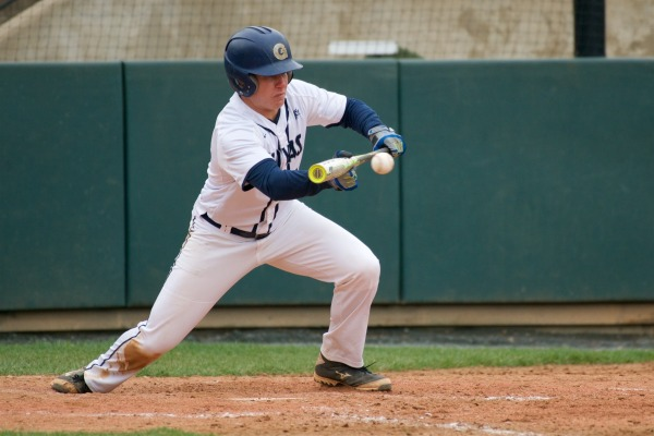 Baseball goes winless in three game series at Davidson