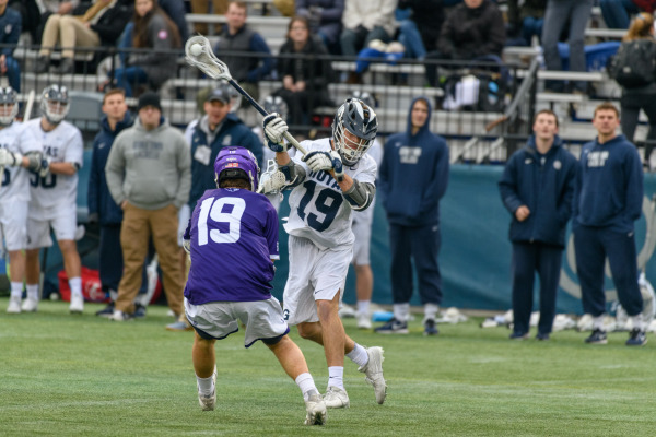 Storming out of the gates: Men's lacrosse wins season opener against High Point