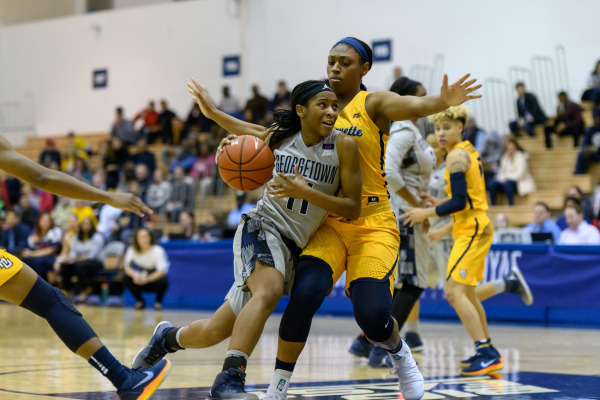 Heartbreak for the Hoyas: Women's basketball falls just short of a sweeping Marquette