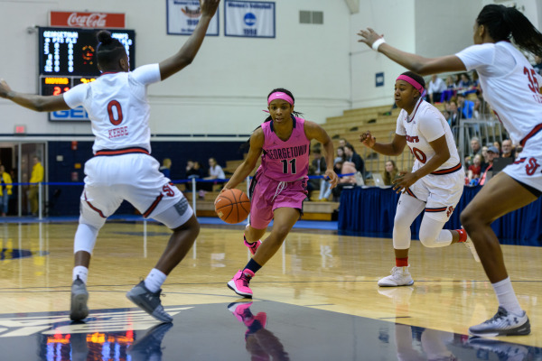 White hot: Women's basketball comes up with the huge upset at DePaul
