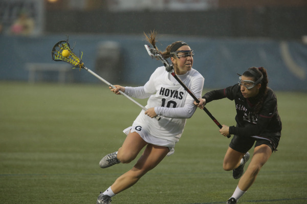 Women's Lacrosse Begins 2019 Campaign with Strong Showing Against St. Joseph's