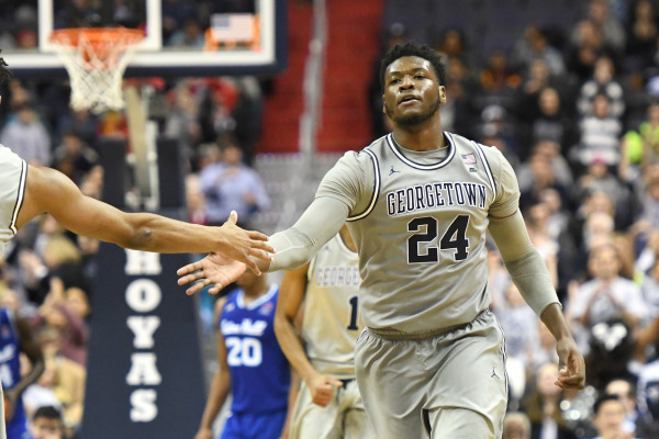 Top Dogs: Hoyas outlast Butler on the road
