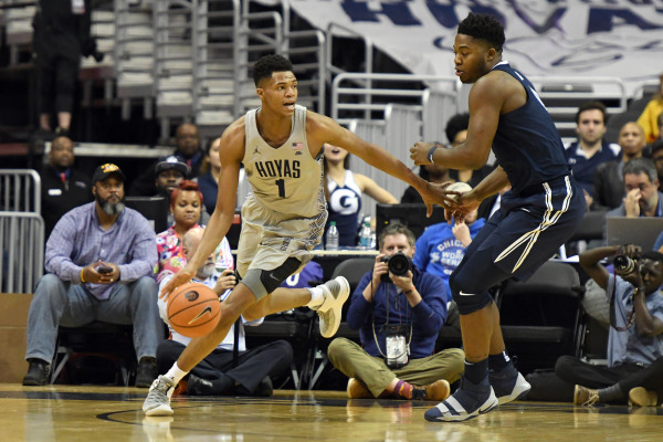 Pickett's charge: No. 4 Xavier holds off Georgetown challenge