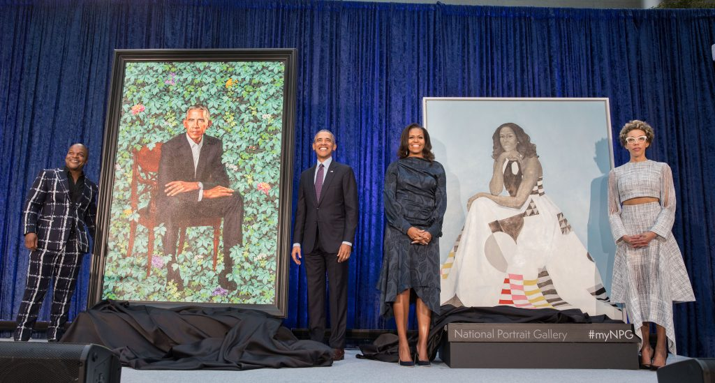 Historic Presidential Portraits Offer Comfort, Inspiration