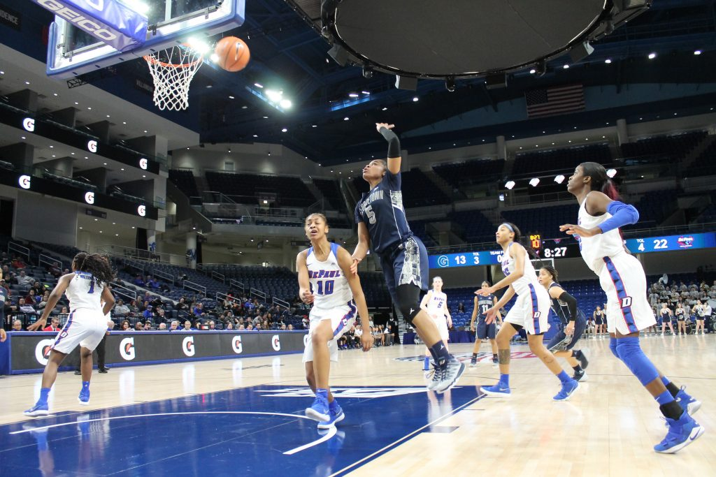 Speed Demons: DePaul outlasts Georgetown in Big East Tournament Semifinals