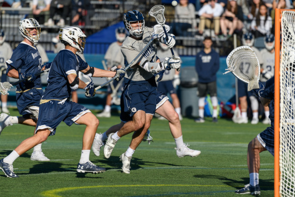 No. 18 men's lacrosse loses first matchup of the year at Drexel