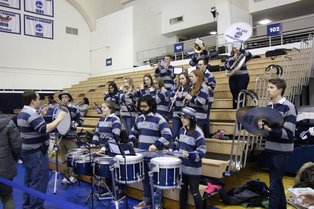 Women's Basketball's Biggest Fans: The Georgetown Pep Band