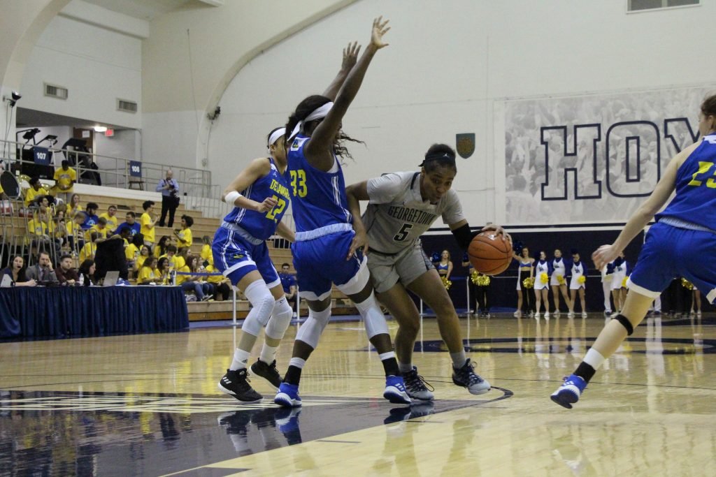 Cynthia Petke's big performance propels women's basketball to WNIT second round