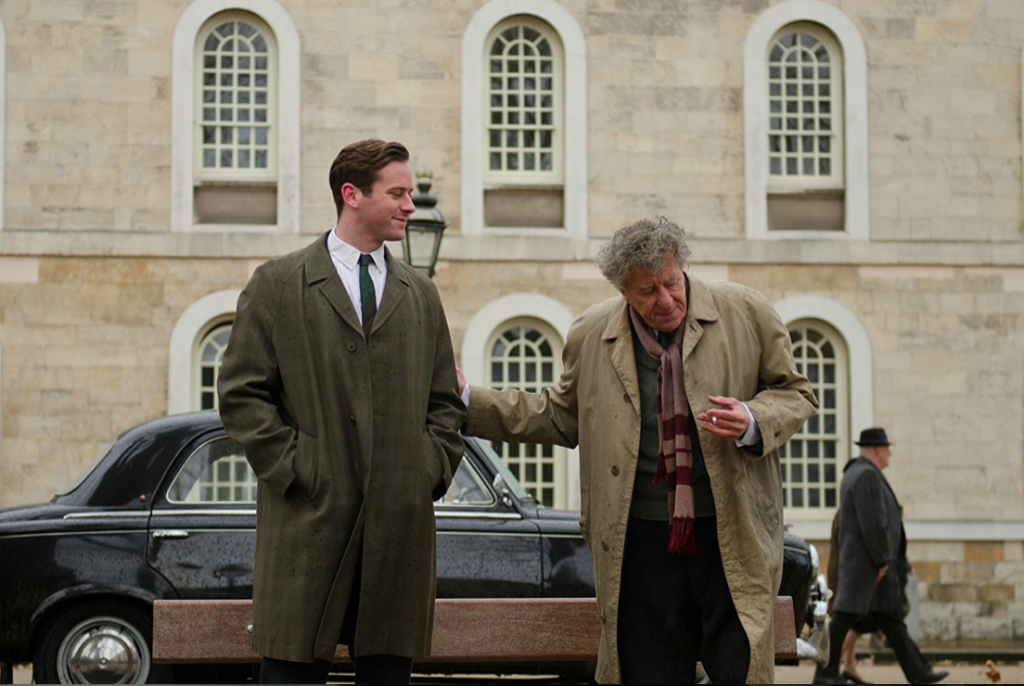 Tucci's <i>The Final Portrait</i> is Brooding Yet Boring