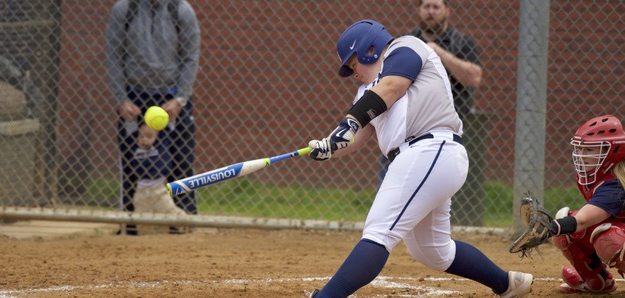 Softball drops two of three against St. John's