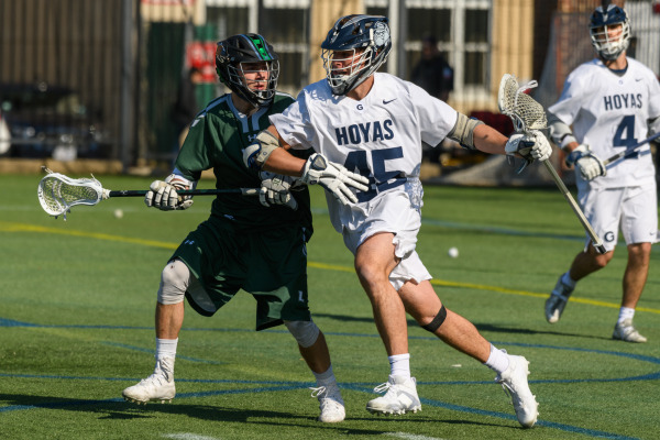 Men's Lacrosse Takes Down St. John's