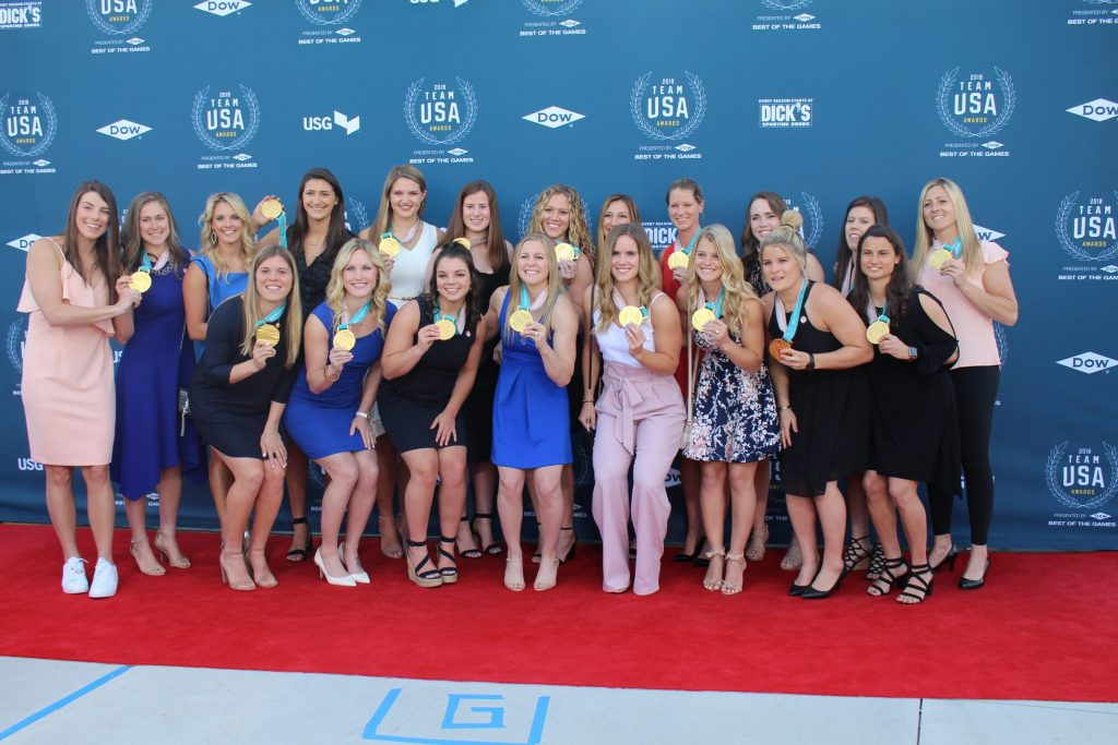 Olympians honored at Duke Ellington School during Team USA Awards