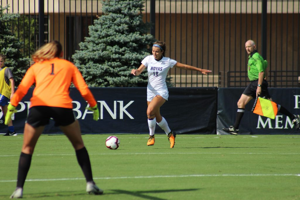 Women's soccer's top-15 matchup ends in scoreless draw