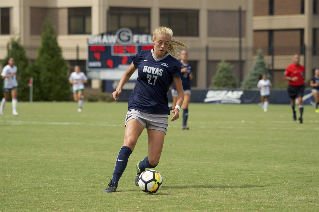 Women's Soccer Takes on Crosstown Rivals