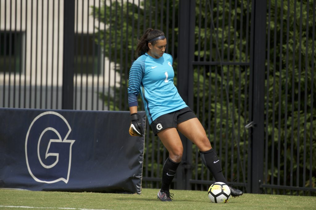 Debut Goal from Carusa lifts Women's Soccer to Opening Day Win
