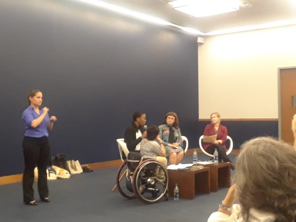 Panel discusses intersections of disability and immigration