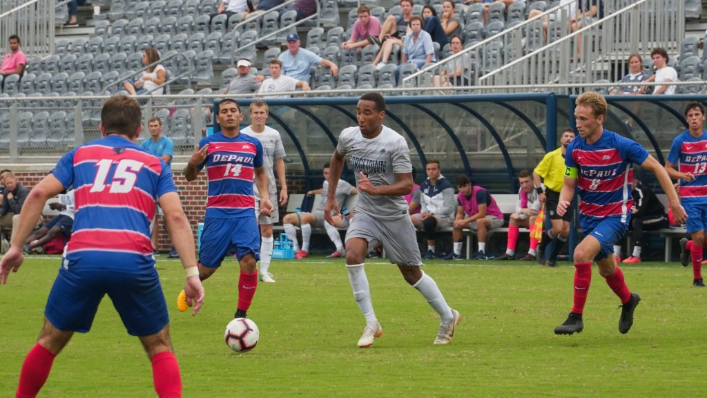 Despite Strong Performance, Men's Soccer Doomed by Defensive Errors