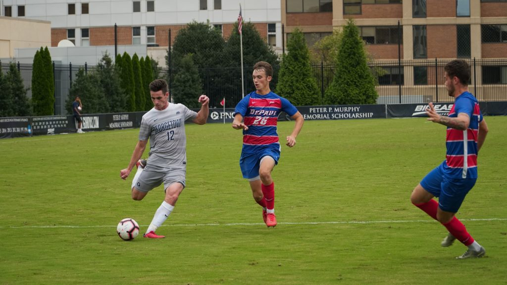 Men's Soccer Hosts No. 6 Louisville