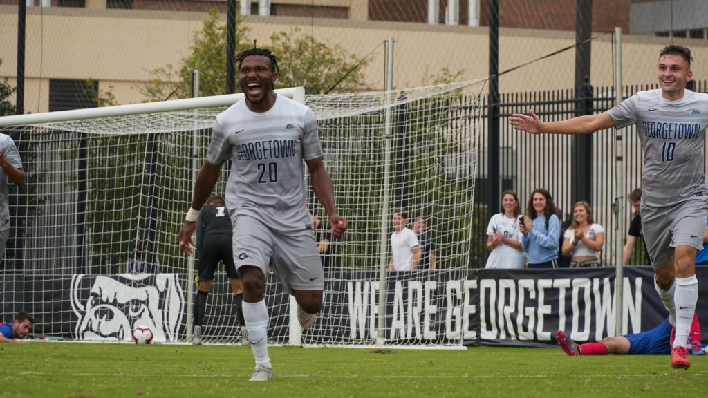 Men's Soccer Gets First Conference Win Over DePaul