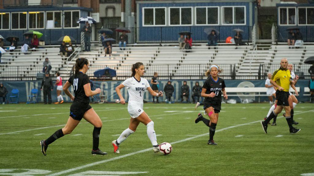 Women's Soccer Takes Down Seton Hall