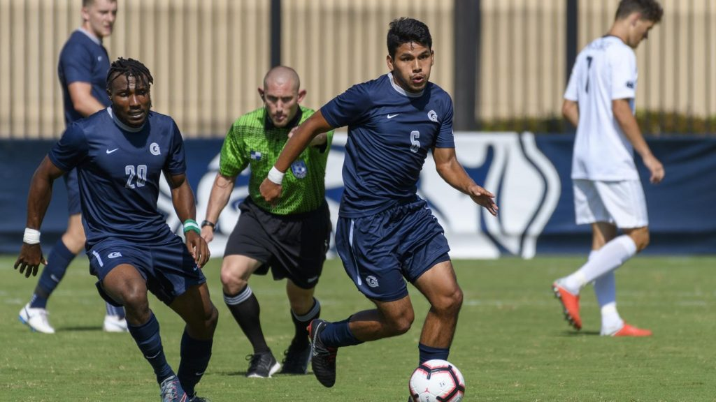Men's Soccer falls to Xavier to Open Conference Play