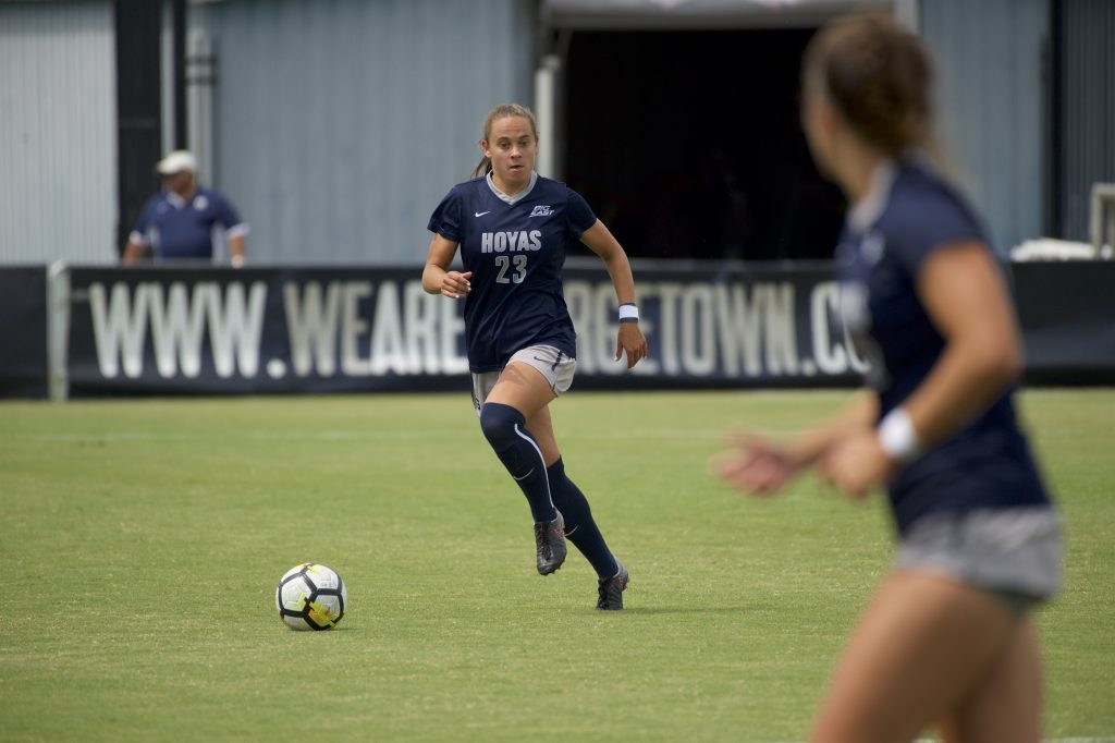 Women's soccer wins 2-0 at West Virginia