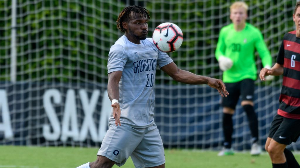 Men's Soccer Hangs on to Upset No. 9 Duke