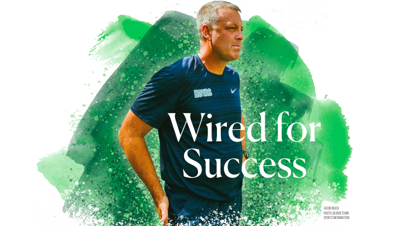 Wired for Success: Brian Wiese lifts men's soccer into national prominence