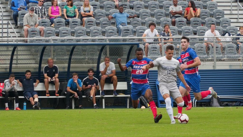 No. 24 Men's Soccer Takes on Providence in Big East Title Race